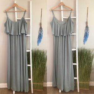Show Me Your Mumu | Caitlin Ruffle Maxi Dress